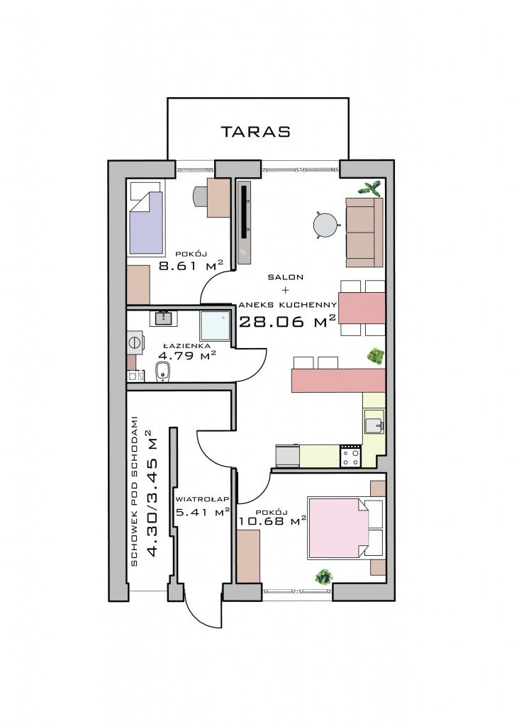 Mieszkanie na parterze